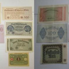 4891-I-Bancnote vechi GERMANIA REICH. Pret bucata.