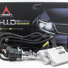 Kit H4 Bixenon 55W 9-16V Ultraslim