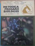 METODICA PREDARII BIOLOGIEI LA CLASELE V-VIII-VIRGINIA TUDOR, ECATERINA CSENGERI SI COLAB.