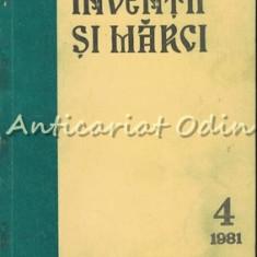 Buletin Pentru Inventii Si Marci 4/1981