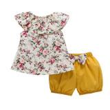 Costumas cu pantaloni galben mustar bufanti (Marime Disponibila: 2 ani)