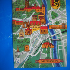 HOPCT  45782  HARTA MEISSEN GERMANIA  -NECIRCULATA