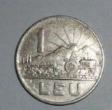 MONEDA  ROMANIA 1  leu  1966