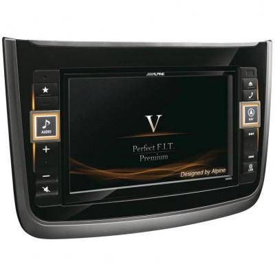 """GPS ALPINE X800D-V Display tactil 8"""" Bluetooth Harta Europei foto"""