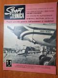 sport si tehnica noiembrie 1970-articol si foto henri coanda,raliul balcanic