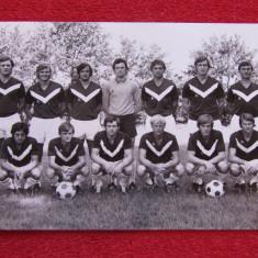 Foto (veche) - echipa de fotbal GIRONDINS de BORDEAUX ( Franta 1971)