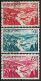 Saar 1948 - Posta Aeriana 3v.stampilat,perfecta stare(z)
