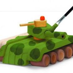 Kit de construit Tanc, din lemn