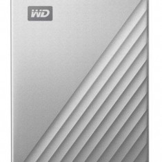 HDD Extern Western Digital My Passport Ultra For Mac, 4TB, USB 3.1 (Argintiu)