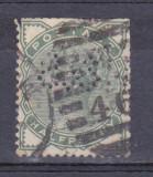 Anglia 1883-1900 / Perfin