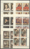 Yemen 1967 European paintings, x 4, MNH S.112