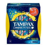 Tampoane Normale Pearl Compak Tampax (18 uds)