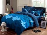 Lenjerie de pat din bumbac satinat T17A-18, 230x250 cm, Set complet