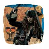 Balon folie Piratii din Caraibe - 45cm, Amscan 22301