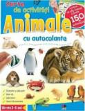 Animale. Carte de activitati cu autocolante./***, Litera