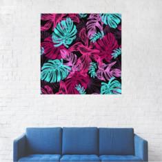 Tablou Canvas, Frunze de ficus - 20 x 20 cm