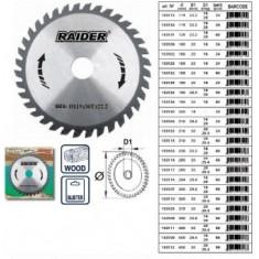 Disc circular pentru lemn 115mm, Raider