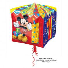 Balon folie cubez Mickey Mouse Cifra 1 - 38cm, Amscan 28627