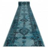 Traversa Vintage 22206044 Rozetă turcoaz, 80 cm