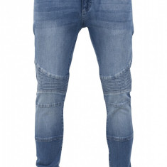 Pantaloni slim fit biker jeans barbati Urban Classics 32 EU