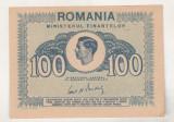 Bnk bn Romania 100 lei 1945 unc