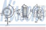 Ventilator, habitaclu OPEL ASTRA G Cabriolet (F67) (2001 - 2005) NISSENS 87081