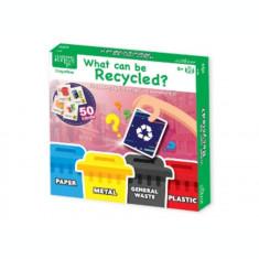 Joc educativ - Ce poti recicla?