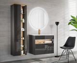 Set Mobilier pentru baie, 4 piese, Bahama Grey II