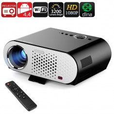 GP90 GP HD Projector - Android, Wi-Fi, DLNA, Airplay