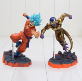 Set figurina Dragon Ball Z Goku Freeza 14 cm