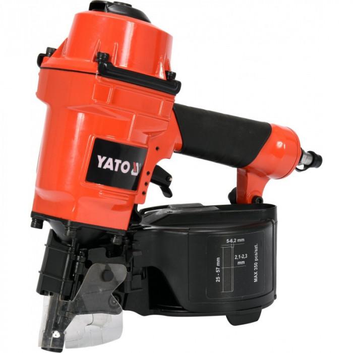 YATO Capsator pneumatic pentru batut cuie 25-57 mm