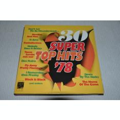 VINIL  SELECTII    Super Top Hits '78  - VG  -