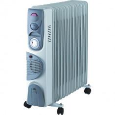 Calorifer Electric 13 Elementi 2900W Ventilator Termostat Timer - functie turbo