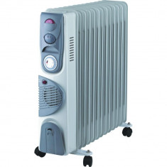 Calorifer Electric 13 Elementi 2900W Ventilator Termostat Timer - functie turbo