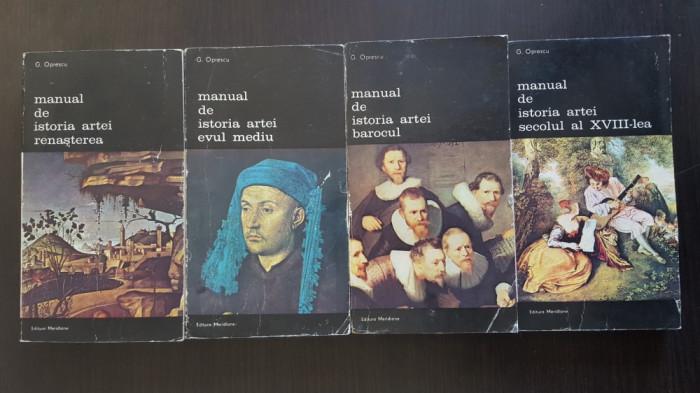 Manual De Istoria Artei - G. Oprescu