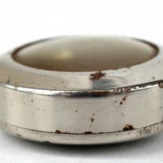 Carcasa cromata pentru ceas de buzunar mineri, minerit Mars 22 1/2