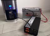 Invertor SINUS PUR 4000 W 12 V-220V panouri solare si auto unda pura rulota casa