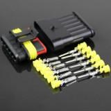 Kit conectori cu 6 pini AMP