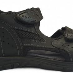 Sandale barbatesti maro Gioseppo 32413 negru, 40 - 46