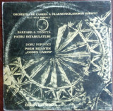 LP:BAKFARK/SIGISMUND TODUTA-INTABULATURI/DORU POPOVICI-POEM BIZANTIN CODEXCAIONI, VINIL