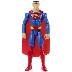 Figurina de jucarie pentru copii, model superman, rosu/albastru, 30 cm