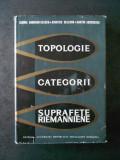 CABIRIA ANDREIAN CAZACU - TOPOLOGIE. CATEGORII. SUPRAFETE RIEMANNIENE