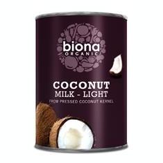 Lapte de Cocos Light Bio Biona 400ml Cod: 5032722311534