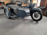 Motocicletă cu sidecar Dnepr MT 12 ANO 1975