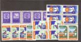 Lot 17 vignete turistice ONT + centenarul marcii Cap de Bour 1958, MNH