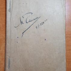 agenda manuscris 1924 - cantece militare 1919-1920,notite ,etc