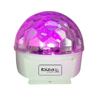 Glob cu lumini Ibiza Astro Led, 9 culori, telecomanda foto