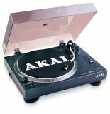 Pick-up turntable akai tta05usb belt-in turntable manual adjustment of the speed 22 1/3/45 rpm usb