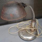 Cumpara ieftin LAMPA INDUSTRIALA DE BANC - REGLABILA - VECHE DIN ANII 1950-60