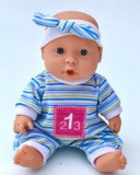 Jucarie Bebe cu bandana albastra